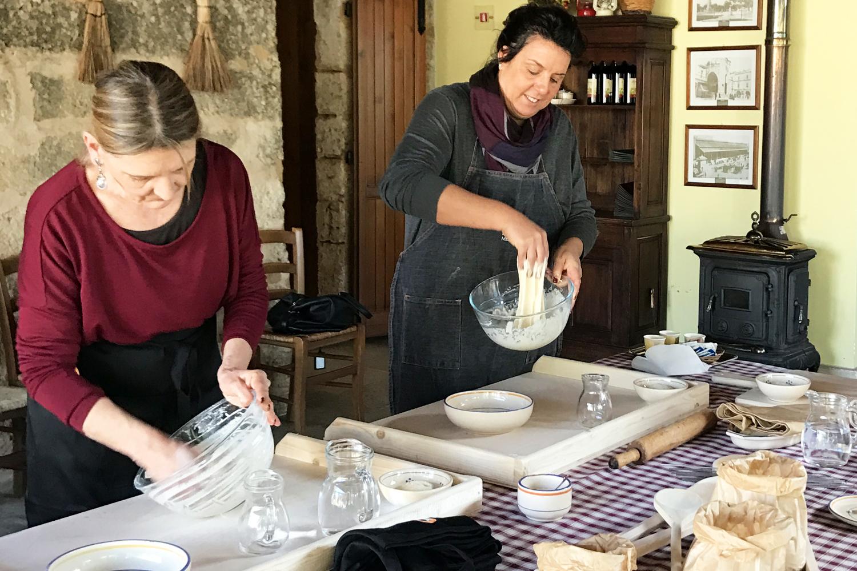 impasto cooking class