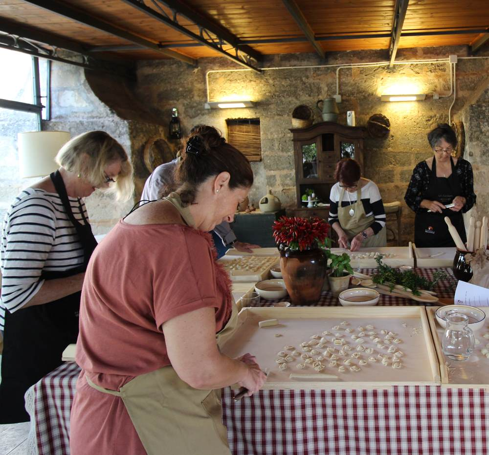 cooking classes le cucchiare