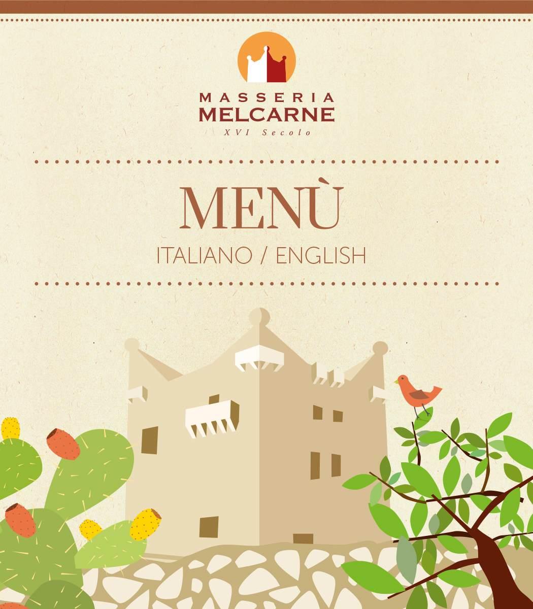 menu ristorante masseria melcarne
